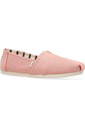 TOMS Women Casual Shoes - Dst Pnk Heritage Cvs Wm Alpr Esp s Slip On Shoes