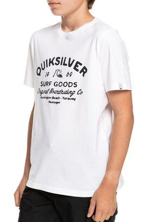 Quiksilver Closed Captions Boys Short Sleeve T-Shirt