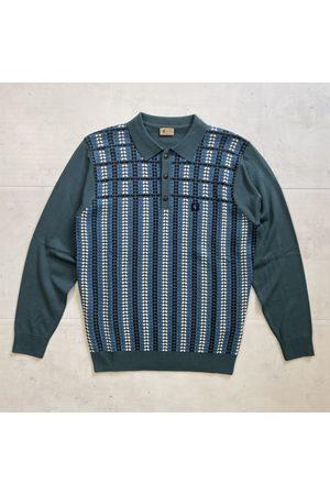 Gabicci Willis Knitted Polo - Juniper