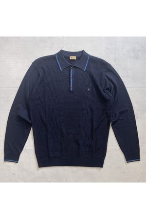 Gabicci Cagney Knitted Polo - Navy