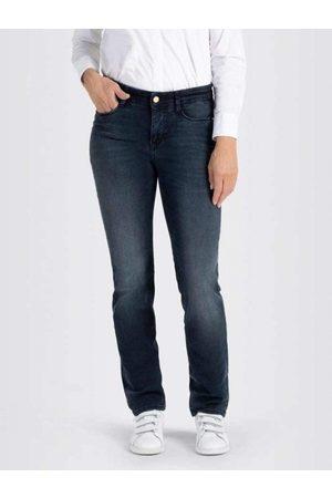 Mac Women Trousers - Mac Dream 5401 0355L Jeans D881 Dark Blue