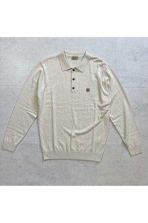 Gabicci Francesco Knitted Polo - Cream