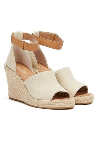 Lacoste TOMS Marisol Womens Cream Wedges