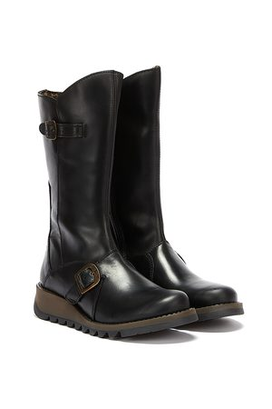 Fly London Women Boots - Womens Mes 2 Leather Boots