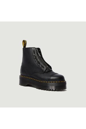 Dr. Martens Sinclair platform leather boots Sinclair Milled Nappa Dr. Martens