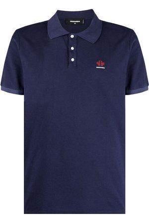 Dsquared2 Men's Navy chest-logo polo shirt