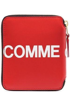 Comme Des Garçons Wallet Purses & Wallets - Logo zipped wallet