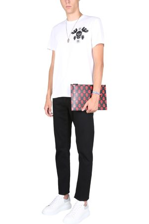McQ JEANS WITH EMBROIDERED LOGO