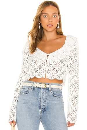 For Love & Lemons Charmaine Crop Top in . Size M, S, XS.