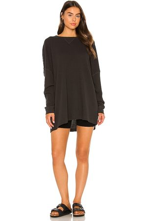Free People Women Nightdresses & Shirts - Early Night Thermal Tee in . Size M, S, XS.