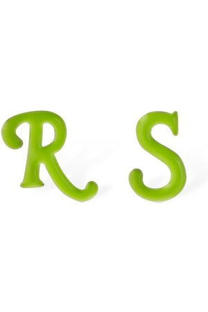 RAF SIMONS Men Earrings - R & S Stud Earrings