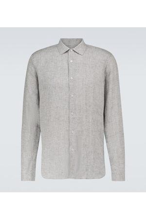 Orlebar Brown Giles linen long-sleeved shirt
