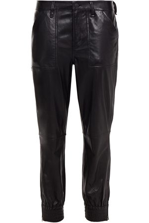 J Brand Woman Leather Tapered Pants Size 23