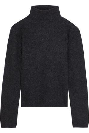Vince Women Turtlenecks - Woman Cashmere Turtleneck Sweater Charcoal Size L