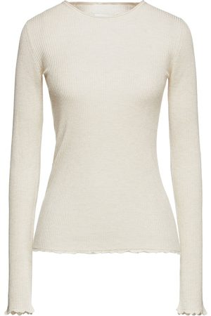 Vince Woman Ribbed-knit Sweater Cream Size L