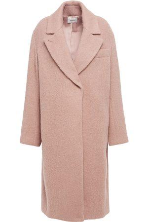 Vince Women Coats - Woman Brushed-felt Coat Baby Size M