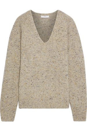 Vince Women Jumpers - Woman Donegal Wool-blend Sweater Size L