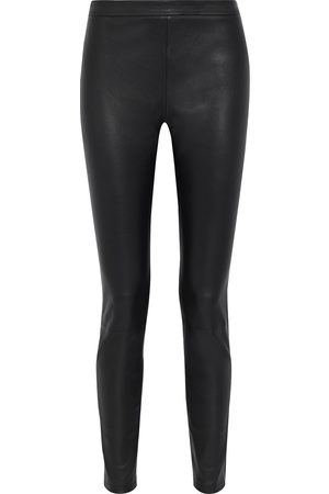 IRIS & INK Woman Audrey Leather Leggings Size 10