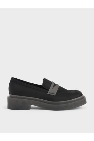 CHARLES & KEITH The Anniversary Series: Charli Recycled Nylon Penny Loafers