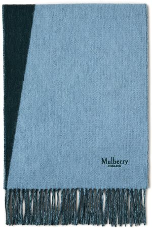 MULBERRY Scarves - Cashmere Blend Bi-Colour Scarf