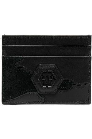 Philipp Plein Men Purses & Wallets - Logo-plaque cardholder