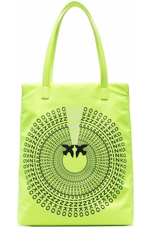 Pinko Women Handbags - Logo-print tote bag