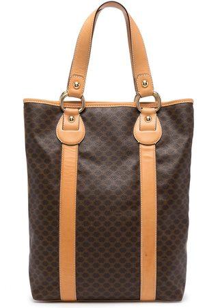 Céline Pre-Owned 2000s pre-owned Macadam pattern tote bag