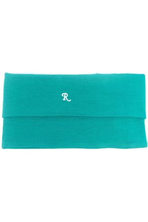 RAF SIMONS Logo-embroidered roll-neck scarf