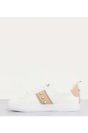 Miss KG Wide fit kaylee lace up trainers in