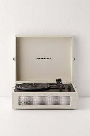 Crosley Voyager Bluetooth Vinyl Record Player - White ALL at Urban Outfitters
