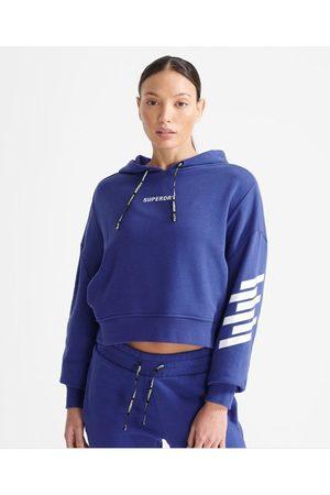 Superdry Women Sports Hoodies - Sport Women's Train Core Hoodie