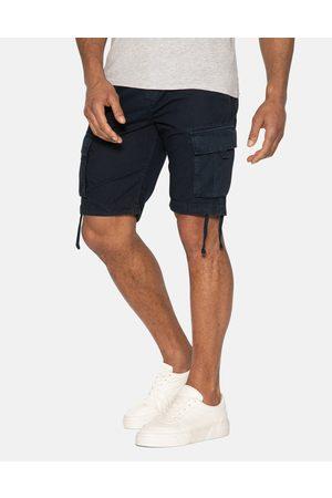 Threadbare Men Shorts - Manchester Cotton Cargo Shorts Navy