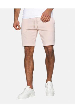 Threadbare Bergamot Fleece Shorts Pale Pink