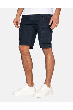 Threadbare Core Cotton Cargo Shorts Navy