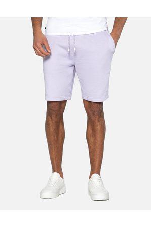 Threadbare Men Shorts - Bergamot Fleece Shorts Lilac