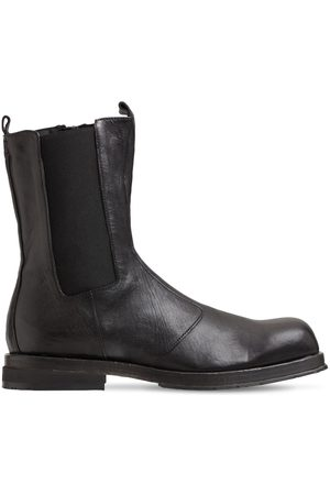 ERNESTO DOLANI Men Chelsea Boots - Ruvido Leather Chelsea Boots