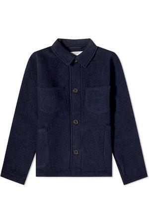 Universal Works Wool Fleece Lumber Jacket