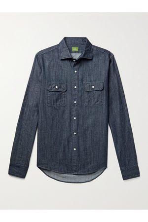 Sid Mashburn Men Casual - Denim Shirt