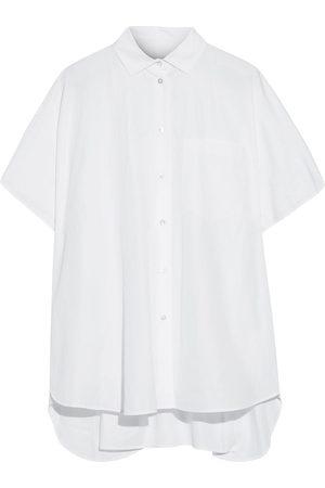 VALENTINO Women Short Sleeve - Woman Oversized Cotton-poplin Shirt Size 36