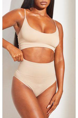 PRETTYLITTLETHING Women Shapewear - Nude Shapewear High Waist Control Briefs