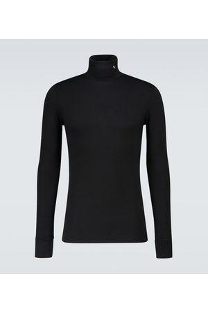 RAF SIMONS Jersey turtleneck pullover