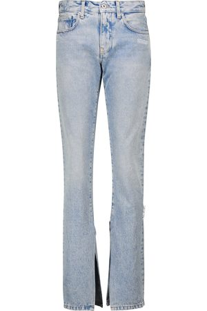 OFF-WHITE High-rise slim jeans