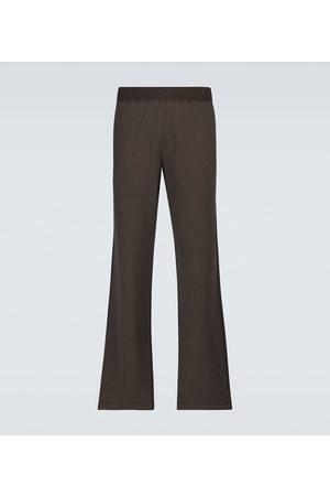 The Row Dolin cotton sweatpants