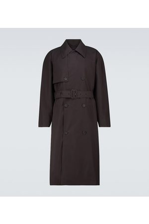 The Row Omar cotton trench coat