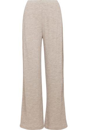 Vince Wide-leg wool-blend pants