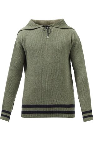 Maison Margiela Sailor-collar Wool Sweater - Mens