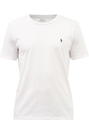 Polo Ralph Lauren Men Polo Shirts - Logo-embroidered Cotton-jersey T-shirt - Mens