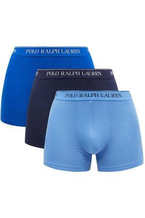 Polo Ralph Lauren Pack Of Three Logo-jacquard Boxer Briefs - Mens - Multi