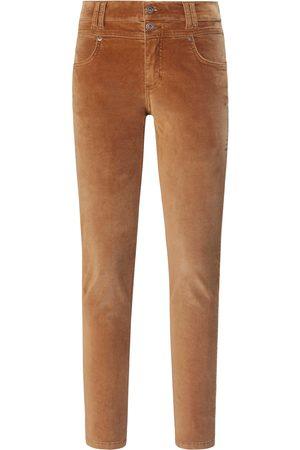 Angels Women Skinny Trousers - Velvet trousers in skinny style size: 10