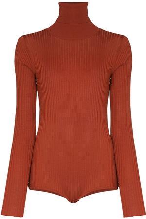 DODO BAR OR Carter open-back knitted bodysuit - Neutrals